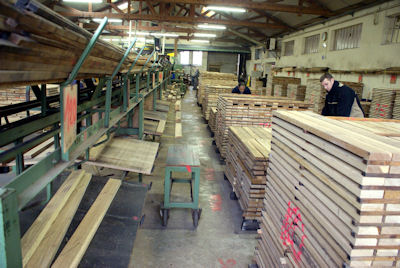 Scandafloor manufacturers and installers of solid wood floors for Local hardwood flooring companies